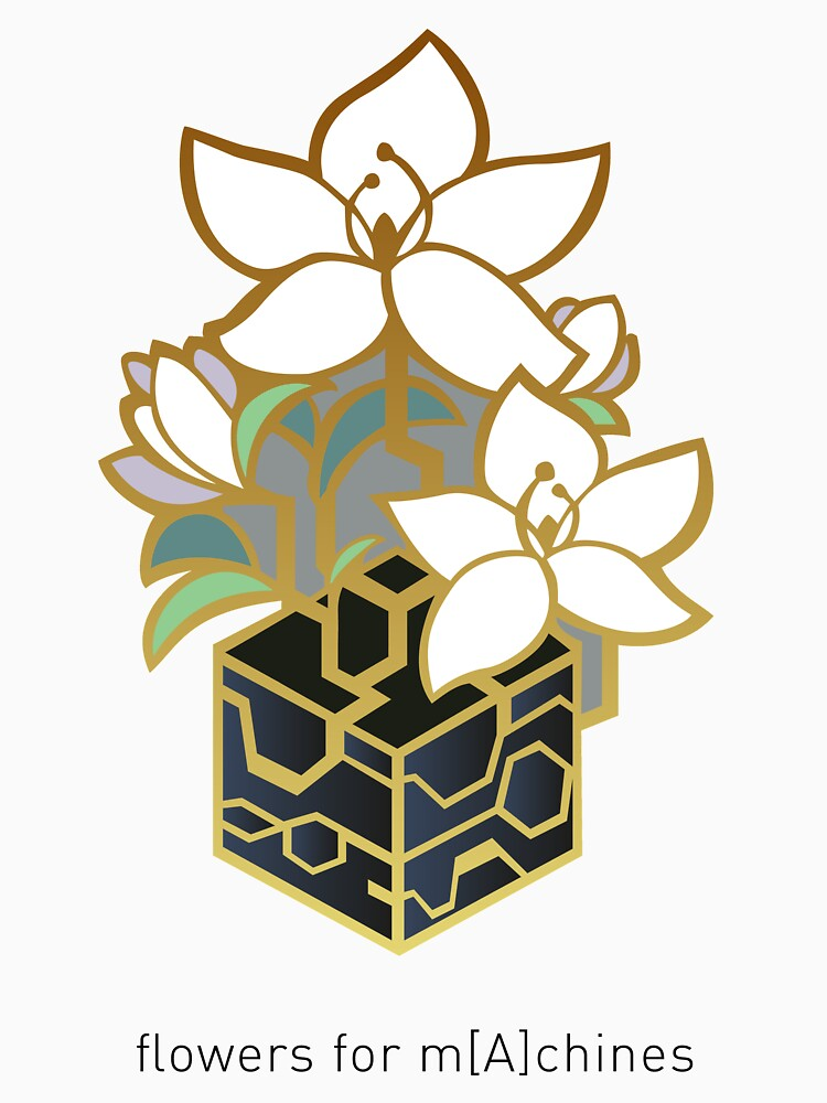 NieR: Automata - Blumen für m [A] chines von mooncore