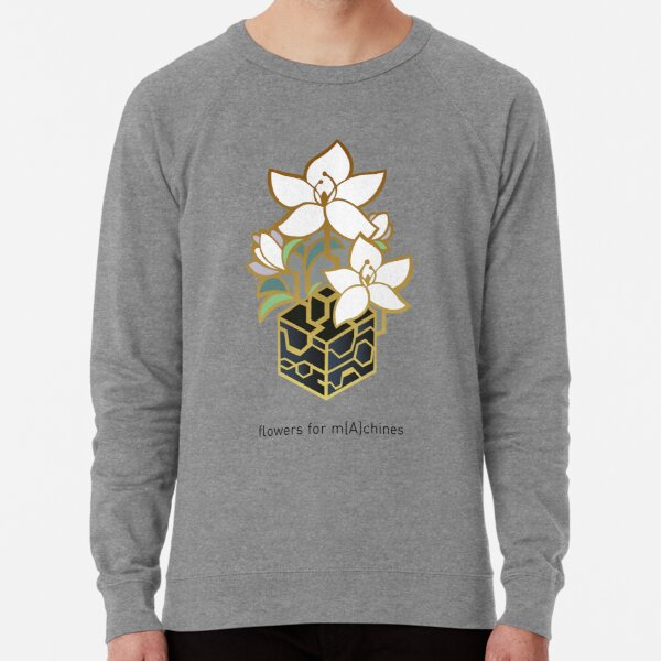 NieR: Automata - Flowers for m[A]chines Lightweight Sweatshirt