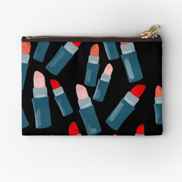 Lovely lipsticks for beauty lovers Zipper Pouch