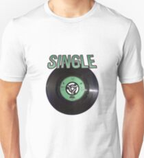 Green Vinyl Single Unisex T-Shirt