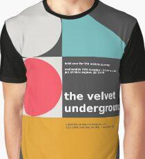 Der Velvet Underground Konzertdruck Grafik T-Shirt