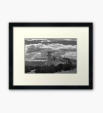 Hoodoo Island, near Chimayo, New Mexico Framed Print