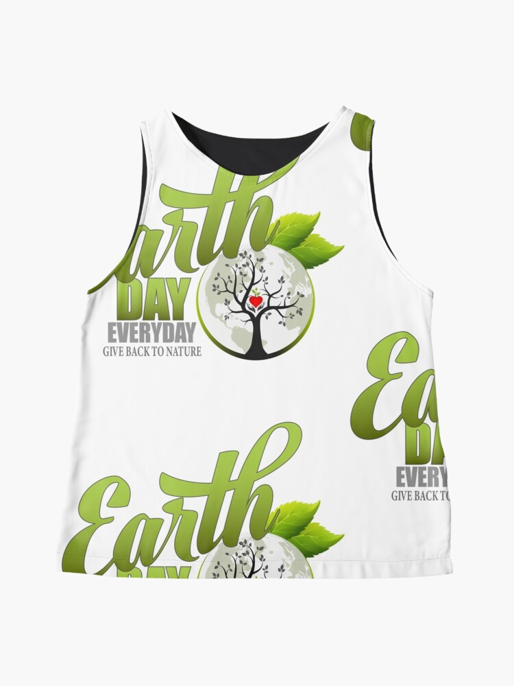 Alternate view of Give Back to Nature - Earth Day Everyday Sleeveless Top