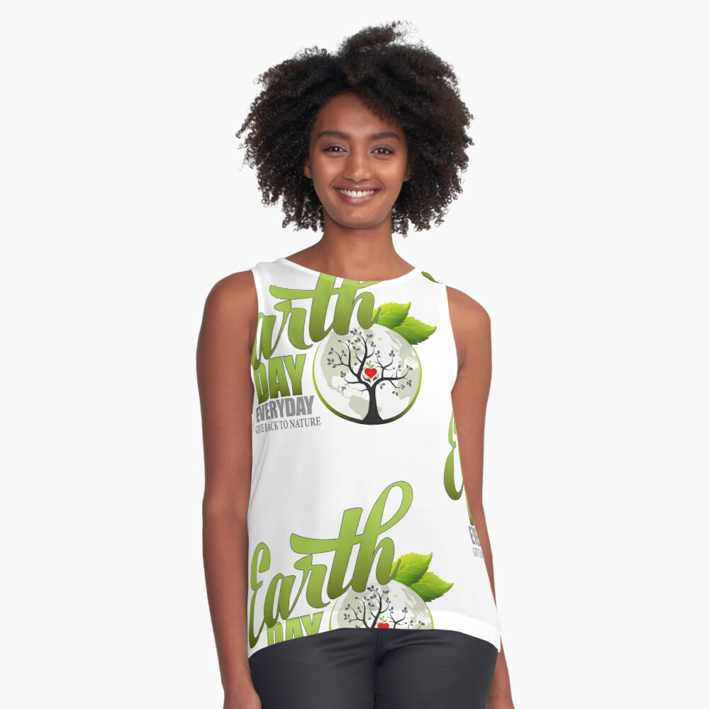 Give Back to Nature - Earth Day Everyday Sleeveless Top