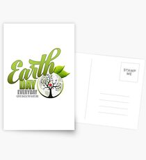 Give Back to Nature - Earth Day Everyday Postcards