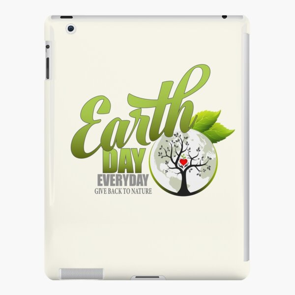 Give Back to Nature - Earth Day Everyday iPad Snap Case