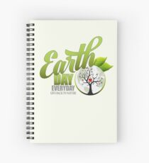 Give Back to Nature - Earth Day Everyday Spiral Notebook