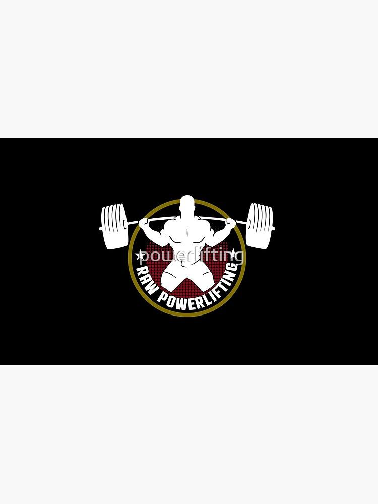 Raw Powerlifting bodybuilding fitness von powerlifting
