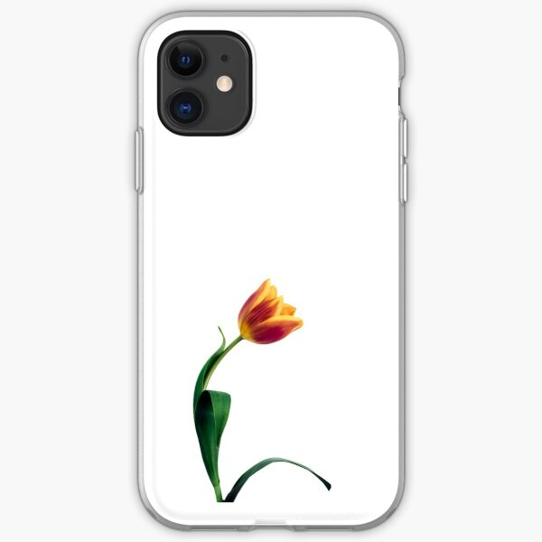 Natural Tulip flower iPhone Soft Case
