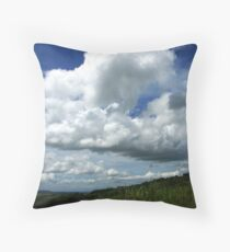 Clouds Roll By Throw Pillow