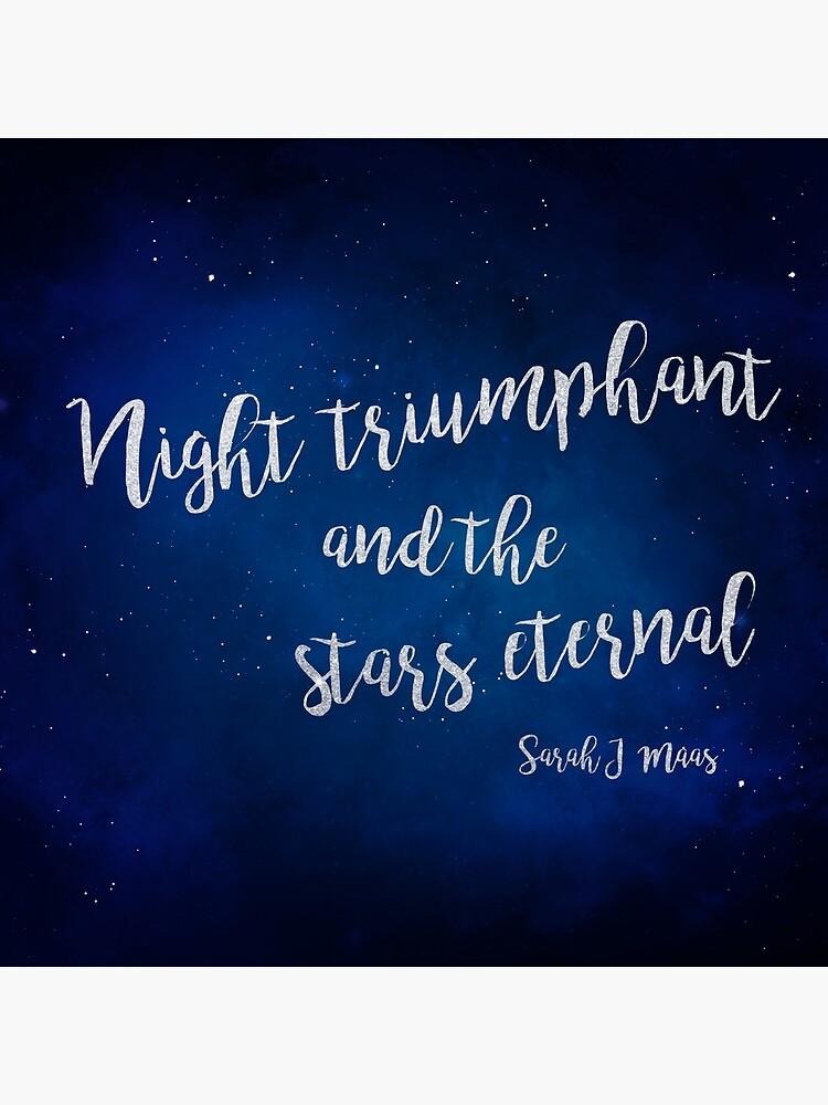 Night Triumphal und die Stars Eternal von IronicSparrow