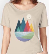 Somewhere Women's Relaxed Fit T-Shirt
