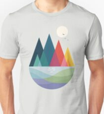 Camiseta unisex Algun lado