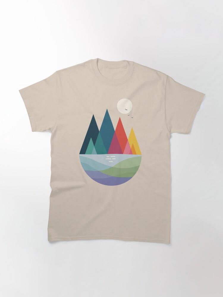 Alternate view of Somewhere Classic T-Shirt