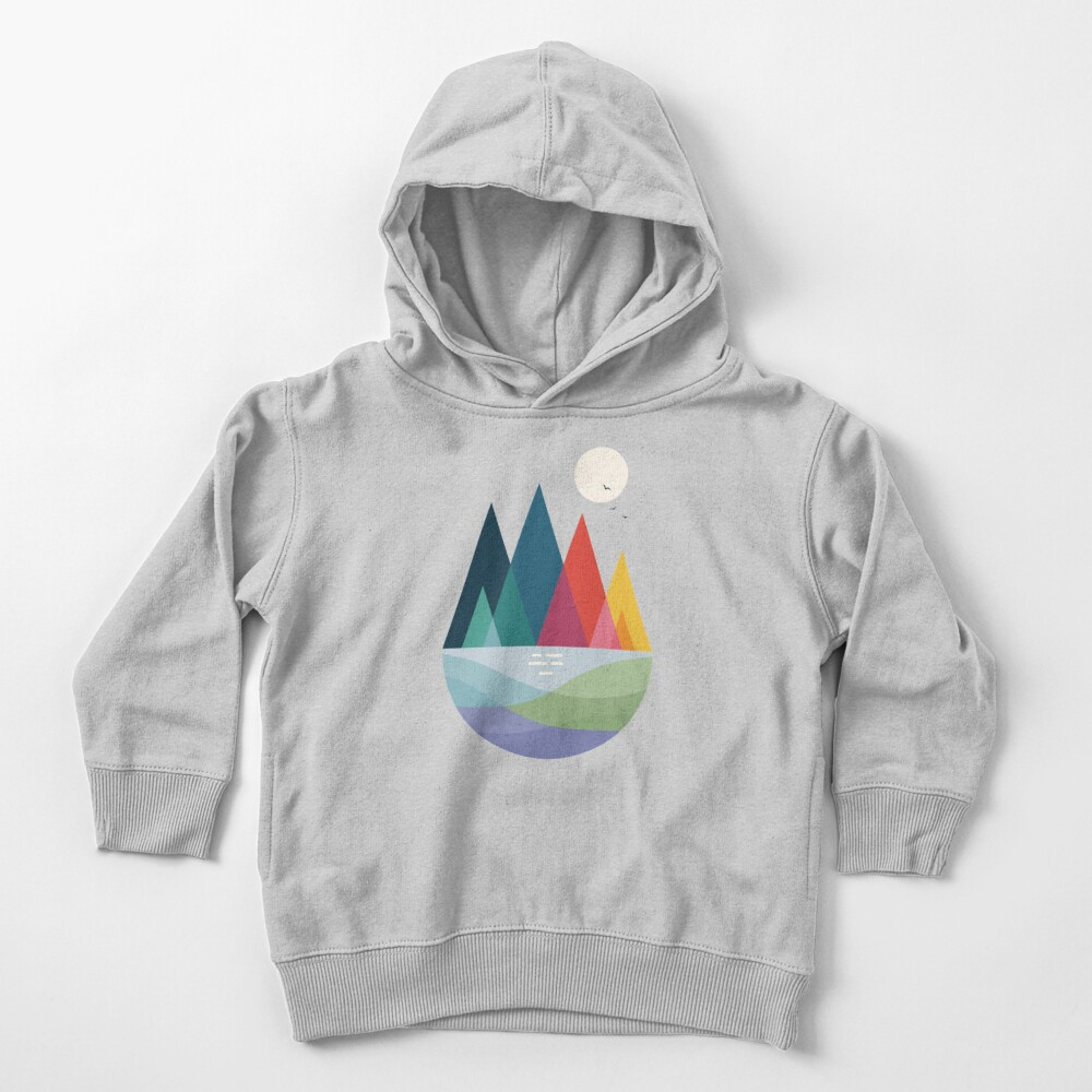 Somewhere Toddler Pullover Hoodie