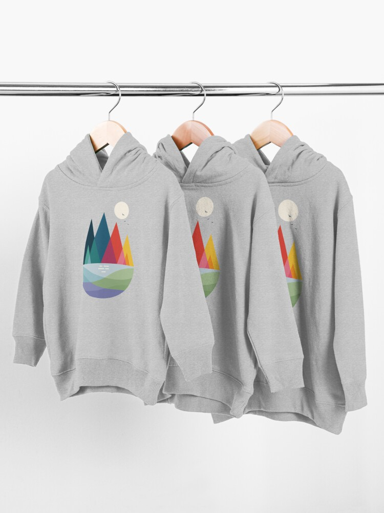Alternate view of Somewhere Toddler Pullover Hoodie