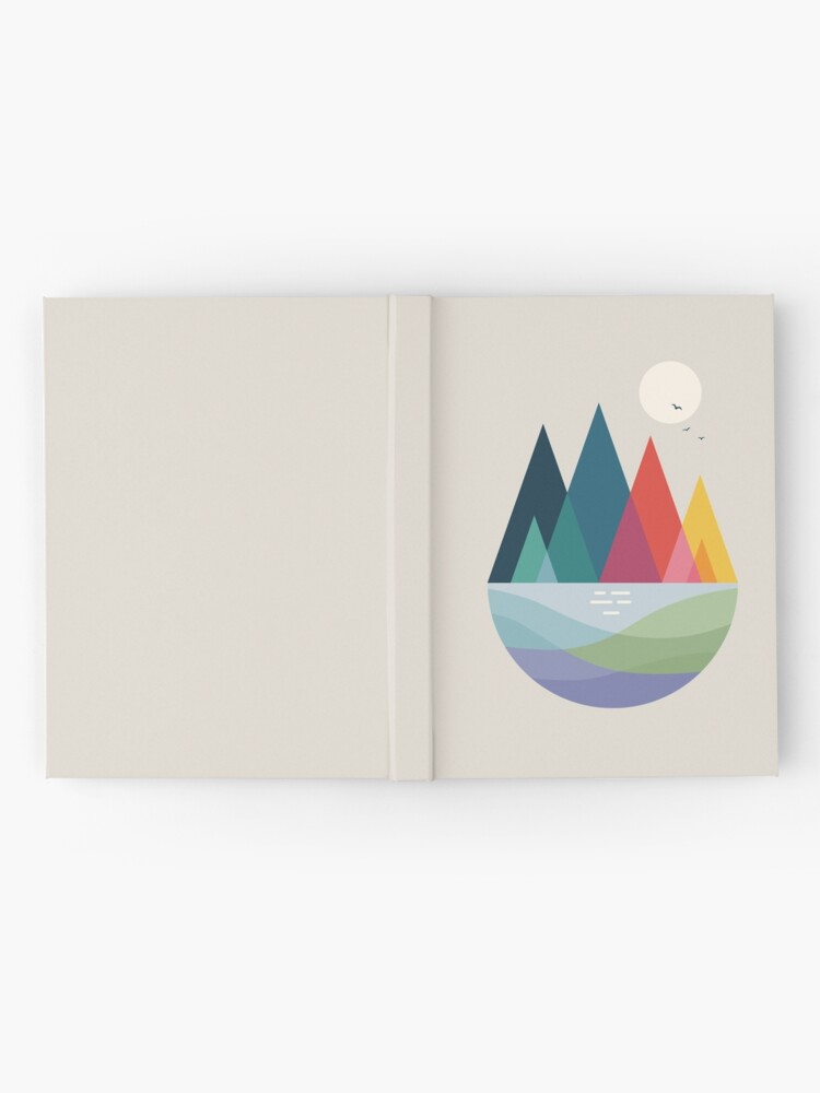 Alternate view of Somewhere Hardcover Journal