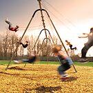 On the Swings by believer9