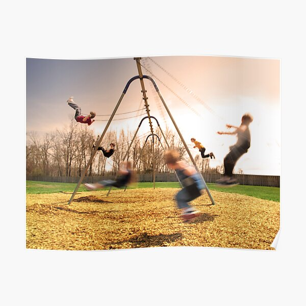 On the Swings Poster
