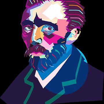 Wpap Van Gogh Colorful by LemoBoy