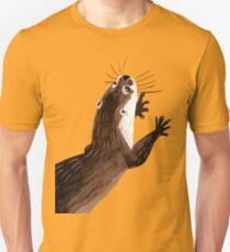 Asian small-clawed otter (Green) Unisex T-Shirt