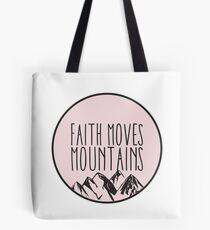 Faith Quote Tote Bag