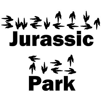 Dinotopia Inspired Jurassic Park Text by christopherda