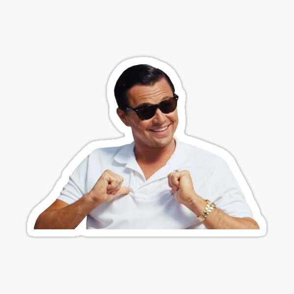 The Wolf of Wall Street - Me? Sticker