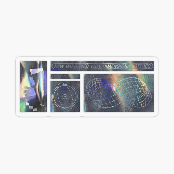 Endless Holographic Transparent Sticker