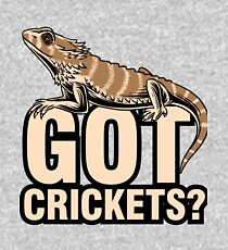 Bearded Dragon Got Cricket keeper shirt funny gift Kids Pullover Hoodie