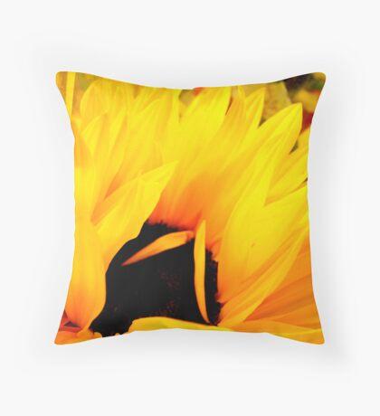 Embracing Petals Throw Pillow