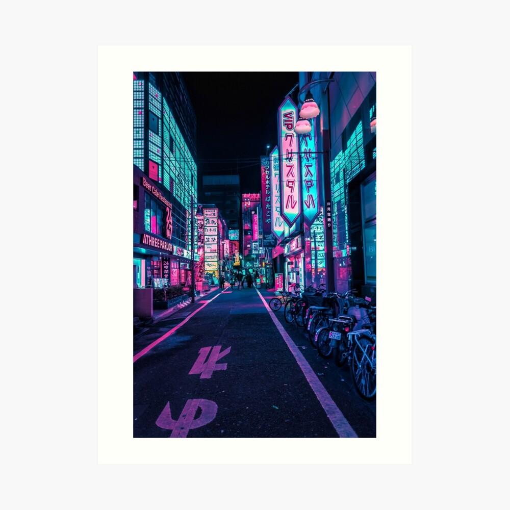 Tokyo - A Neon Wonderland Art Print