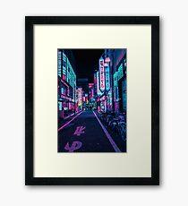 Tokyo - Un pays des merveilles au néon Impression encadrée
