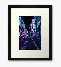 Tokio - Ein Neon-Wunderland Gerahmtes Wandbild