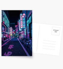 Tokyo - A Neon Wonderland Postcards