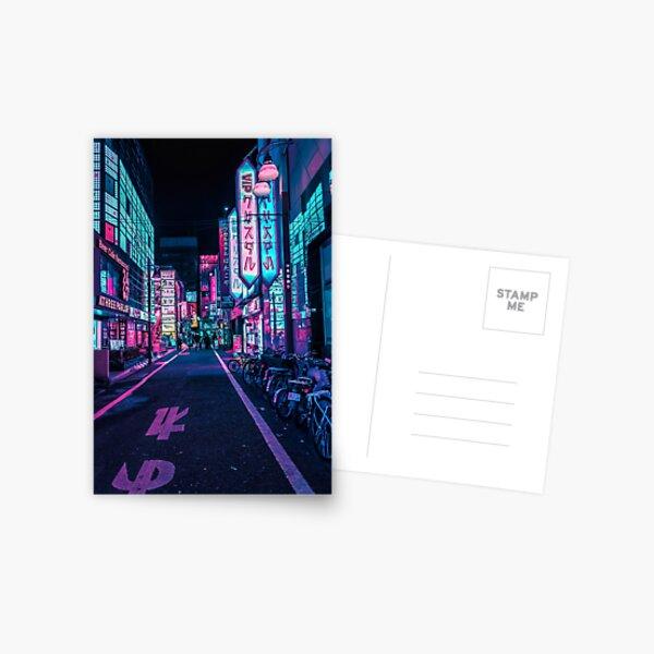 Tokyo - A Neon Wonderland  Postcard