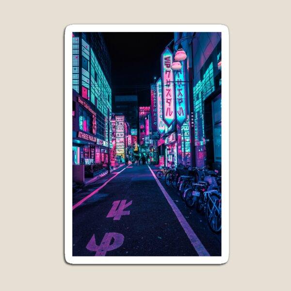 Tokyo - A Neon Wonderland  Magnet