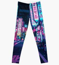 Tokyo - A Neon Wonderland Leggings