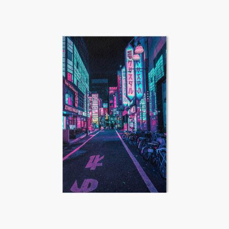Tokyo - A Neon Wonderland  Art Board Print