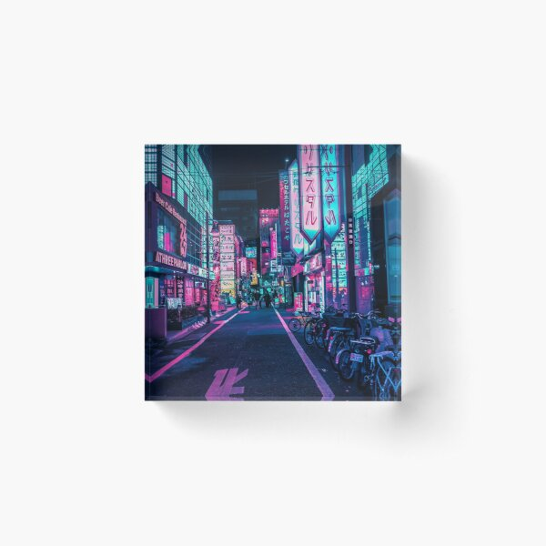 Tokyo - A Neon Wonderland  Acrylic Block