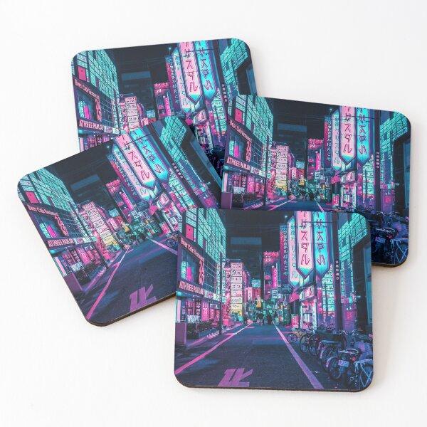 Tokyo - A Neon Wonderland  Coasters (Set of 4)