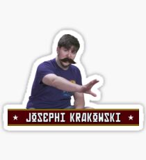 JOSEPHI KRAKOWSKI Sticker