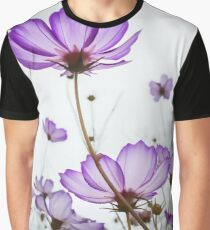 TENDER VIOLET BLOSSOMS Graphic T-Shirt