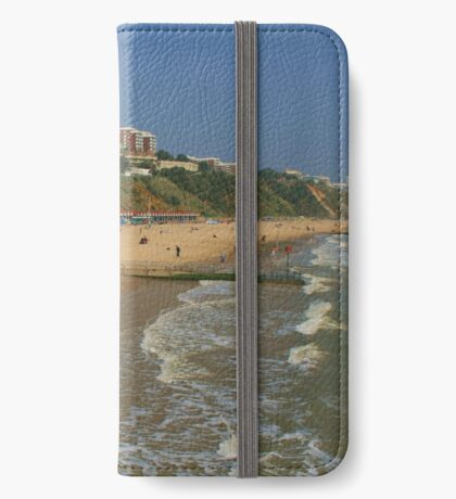 Bournemouth Beach And East Cliff iPhone Wallet