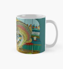 Smokin' Salmon Bar Smoking Cigars, Lisa Rotenberg Mug