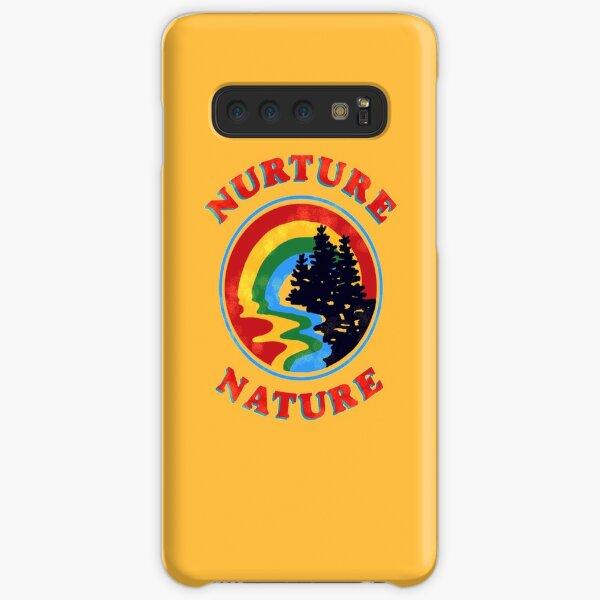 nurture nature vintage environmentalist design Samsung Galaxy Snap Case