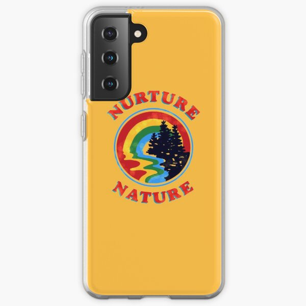 nurture nature vintage environmentalist design Samsung Galaxy Soft Case