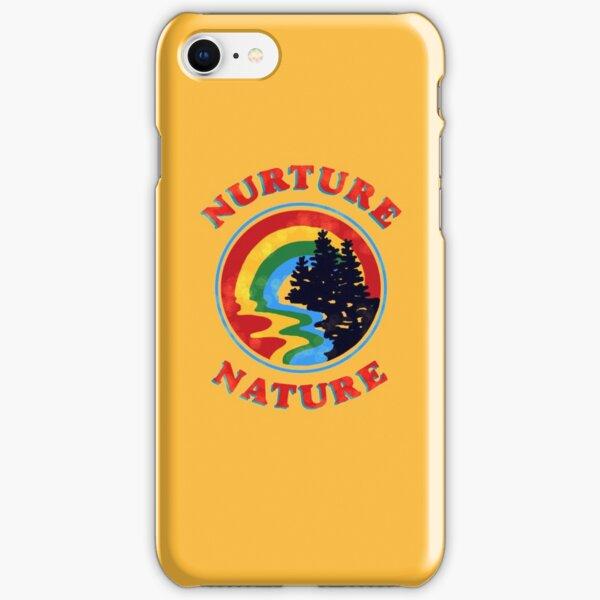 nurture nature vintage environmentalist design iPhone Snap Case
