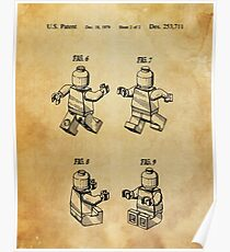 Lego Patent Posters Poster