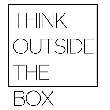 Think ouside the box by Oxshop
